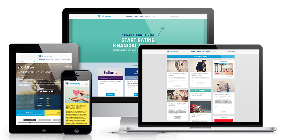 ThinkMoney Financial Offers and Review Platform